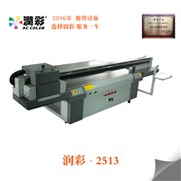 New Design UV Flatbed Ink Industrial Printer Printing Machine with White