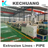 PE PIPE EXTRUSION MACHINE with NEW DESIGN