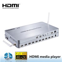 Smart Android 4.4 System 4K/60Hz HDMI 10 Ways HD Media Player TV Box