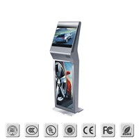 "17"" Floor-Standing Interactive Digital Board, Self Service Kiosk"