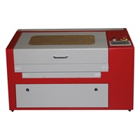 China 50W Laser Engraving & Cutting Machine 5030 Laser Engraver