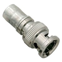 Straight BNC RF Coaxial Connector for Cables