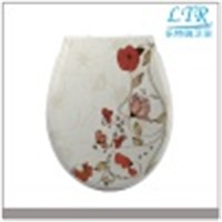 Duroplast Material Slow Close Decor Toilet Seat & Cover