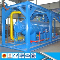 ASME Standard Three Phase Gas Filter Separator / Oil Well Testing 3-Phase Separator