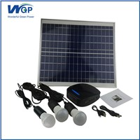 20W Mini Project Complete Home Solar Power System
