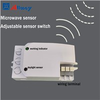 Radar Sensor LED Light Lamp Auto Motion Sensor Detector Light Switch