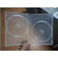 14mm Double Clear Rectange DVD Case DVD Box DVD Cover