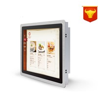 15 Inch Touch Screen Monitor Waterproof LED DC12V Factory