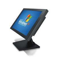 Touch Screen Monitor Industrial Panel Self Service Kiosk 12.1 Inch Fanless RAM 2G