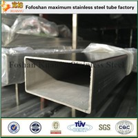 Ss 316L Stainless Steel Rectangular Pipe Hollow Section Pipe for Table