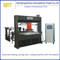 Automatic Moving Head Type Sheet & Roll Material Cutting Machine
