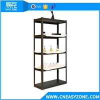 EASYZONE 220KG LOAD BLACK HOUSEHOLD SHELF RACK