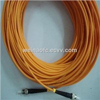 Fibre Optic Patch Cord ST-ST OM1 OM2 Mutimode Simple PVC LSZH