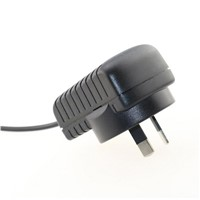 15V 1A Euro Plug Wall Mount Power Adapter Supply