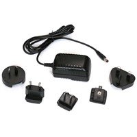 7.5V1A Interchangeable AC Power Adapter 7.5W Switching Adaptor Used for LED Ligthing Strips/LCD Monitor