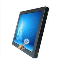 Capacitive / Resistive LCD Touch Screen Monitor, Interface Self Service Kiosk with WiFi Wholesale 8 Inch- 17 In