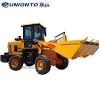 China Mini Articulated Front End Mini Loader for Sale