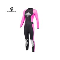 Divecica Women Black&Pink Neoprene Scuba Diving Wetsuit