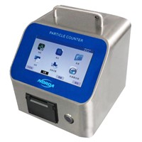 Laser Particle Counter with Touch Screen 1 CFM Model ND6300(T) Series1 CFM 28.3L/Min, 50L/Min