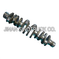 Sinotruk Engine Truck Spare Parts Crankshaft
