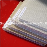 Light Weight Stiffness Strength Waterproof Stable Life Honeycomb Sandwich Panel as Floor in Bus