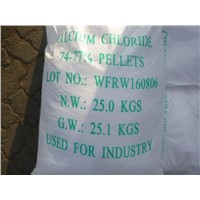 Calcium Chloride Flakes 74% 77% for Export Only
