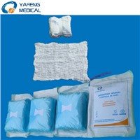 Disposable Medical Consumable Pre-Washed Operation Lap Sponges