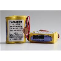 GE FANUC PLC Battery A98L-0031-0011#L 6V Lithium Battery Panasonic BR-AGCF2W