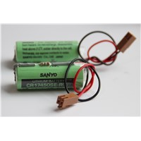 GE FANUC PLC Battery A98L-0031-0012 A02B-0200-K102 3V Lithium Battery Sanyo FDK CR17450SE-R