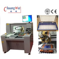 Stand Alone CNC PCB Router Machine with 0.01mm Positioning