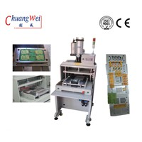 High Precision PCB / FPC Punch Separator, Printed Circuit Board Depaneling Machine for Assembly
