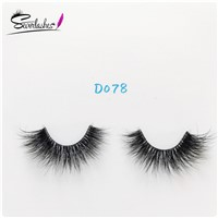 D078 International Quality Wholesale 3d Real Mink Lashes