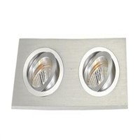 LED Spot Light Fiture without MR16 Lamp Source Just Only MR-16 Lamp Socket 4mm Enough Thickness High Aluminum Body
