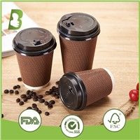 High Quality Wholesale Ripple Wall Paper Cup