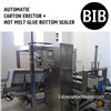 Automatic Hot Melt Glue Box Bottom Sealer Case Erecting Machine Carton Erector