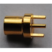 Straight MMCX RF Coxial Connector for PCB