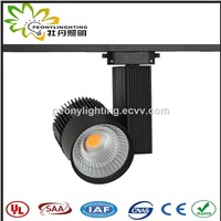 2017 New Version High Lumen 4 Wires 3 Phases Black Aluminum Case 40W 45W LED Track Light