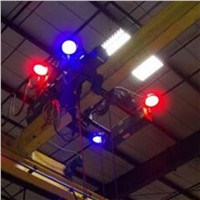 84-120watts Blue/Red Spotlight for Mobile Equipment & Overhead Crane