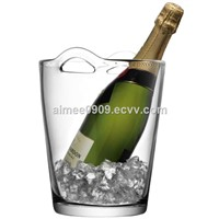 Factory Price Custom Made Crystal Glass Champagne & Beer Ice Bucket