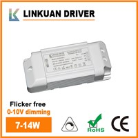 0-10V Dimming LED Driver with Flicker Free 7-14W LKAD015D-C