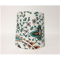 Print Butterfly Cotton Drum Lamp Shade