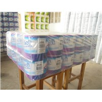 100% Virgin Wood Pulp Toilet Tissue Paper Roll Wtih Low Price