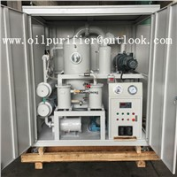 Double-Stage Highly Effective Vacuum Oil Purifier / Waste Oil Purifier Machien