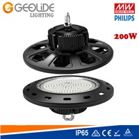Quality Philps SMD 3030 UFO LED High Bay Light 100W with Meanwell Driver IP65 CE RoHS (HBL101A-100W)
