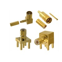 High Quality SMB RF Coaxial Connectors for PCB & Cable