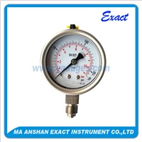 All Stainless Steel Oil Filled Presure Gauge