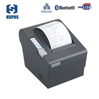 Excellent 80mm Bluetooth Printerandroid Thermal Printer Easy for Paper Installation Standalone Receipt Printer