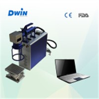 Fast Speed 20W 30W Fiber Metal Laser Marking Machine for Metal & Nonmetal