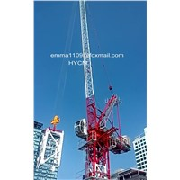 Hot Sell D120 4522 Luffing Jib Tower Crane 6tons Load 45m Luffing Jib Factory Cost