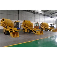 Self Loading Mobile Cement Mixing Truck